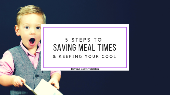 5 Steps to Saving Meal Time and Keeping Your Cool