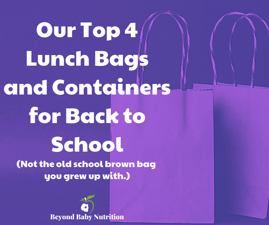 Top 4 lunch bags and containers for back to school