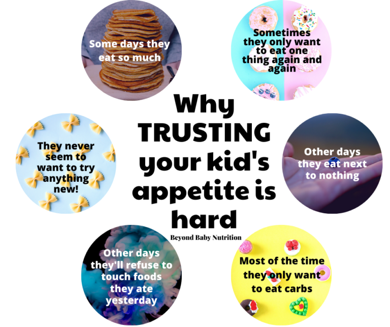 6 reasons why trusting your child's appetite is hard