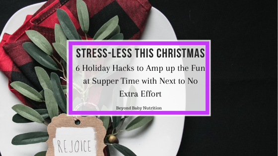 6 tips to stress less this Christmas supper