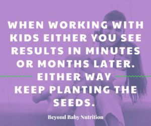 Plant the seeds of the 3R's to nurture intuitive eaters