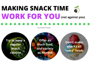 making snack time work for you not against you